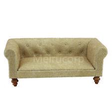 1/12 scale Dollhouse miniature furniture Handmade Soft Fabric Sofa