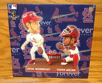 Yadier Molina and Adam Wainwright ~ St. Louis Cardinals DUAL PLAYER Bobblehead