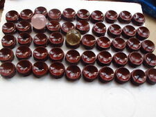 50 red patina wood tower stand pedestal holding CRYSTAL Sphere