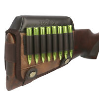 Tourbon Rifle Cartridges Holder Ammo Carrier Gun Stock Cheek Rest Riser Shooting