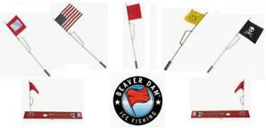 Beaver Dam Tip Up Replacement Flag (Select Color) BD-FLAG