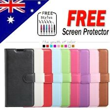 Samsung Galaxy A8 2018 & A8+ Plus 2018 Wallet Leather Shockproof Flip Case Cover