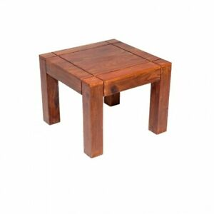 Wooden Lamp/Side/End Table made from pure Shesham Wood
