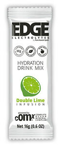 Edge Hydration Mix Double Lime (12 pack x 12g sachets)
