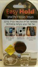 Easy Hold Magnetic Holder For Cellphones/gps Car Mount Universal Black Original!