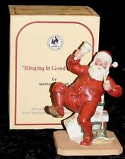 """1981 Norman Rockwell """"Ringing In Good Cheer"""" Full Size Figurine-Not a Mini"""
