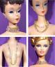 Barbie Dreamz LONG DIAMOND WRAP NECKLACE Rhinestone Triple CHOKER Doll Jewelry