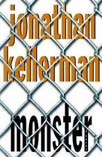 MONSTER Jonathan Kellerman 2nd prt 1999 Mystery Hardcover & Jacket