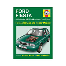 Ford Fiesta 1.25 1.3 1.4 1.6 Petrol 1.8 Diesel 95-02 (N to 02 Reg) Haynes Manual