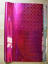 50 Sheets Dark Pink  Metallic Wrapping Paper 50cmx70cm