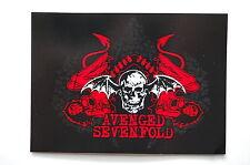 "Avenged Sevenfold Sticker Decal Car Bumper Window Metal Apprx. 5.5""X4"" (484)"