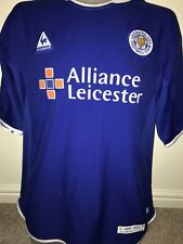 Signed David Kelly Keith Gillespie Leicester City 120 Year Shirt + Proof