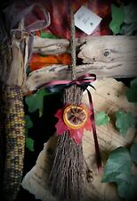 Witches Altar Besom Handmade Samhain Decorations Wicca Broomstick Pagan Yule