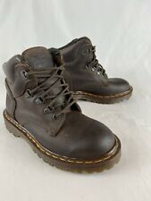 Dr Doc Martens 7741 Gaucho Boots brown women's size UK 3 US 5 industrial leather