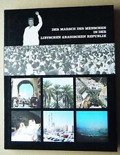 Der Marsch des Menschen in der libyschen arabischen Republik Geschichte Kultur