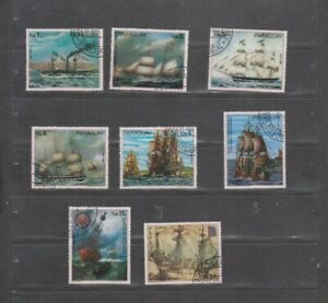 PC 128 _ Paraguay. Nice set of cancelled stamps.