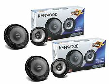 "TWO Pairs of Kenwood KFC-1665S 6.5"" 2 Way Car Speakers 4 KFC1665S KFC1665SX2"