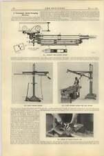 1921 Pneumatic Metal Scraping Machine Anderson