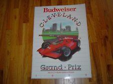 1985 Budweiser Cleveland Grand Prix Original Laminated Poster