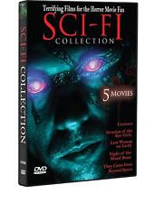Sci-Fi Collection (DVD, 2010) New, 5 Movies  (S)
