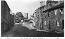 Village Church Askrigg Kings Arms Hotel Pub Nr Hawes unused RP old pc  Frith