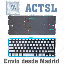 Retroiluminación para teclado Apple Macbook Air A1369 13""