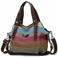 Hot Canvas Bag Shoulder Bag Tote Purse Crossbody Messenger Satchel Women Handbag