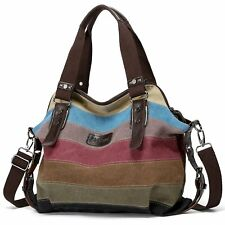 Women Girl Shoulder Bags Handbag Hobo Messenger Crossbody Satchel Canvas Bag