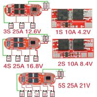3S 5S 10A 25A BMS 18650 Li-ion Lithium Battery Protection Circuit Charging Board