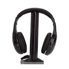 1Hi-Fi Ecouteurs/casque sans fil pour HDTV, TV, VCD, PC, MP3, MP4, CD, DVD T7T1
