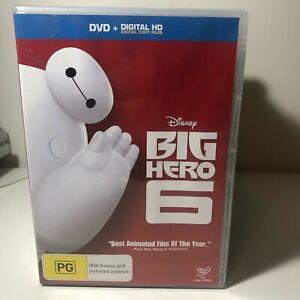 DVD - Big Hero 6 - FREE POST #P2