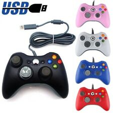 New USB GamePad Wired Controller For Microsoft Xbox 360 Console / PC Windows