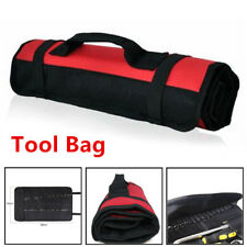 Car Hardware Tool Roll Plier Screwdriver Spanner Case Pouch Bag Reels 22 Pockets