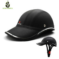 Half Helmet Baseball Cap Style Safety Hard Hat Open Face For Motorcycle Bicycle