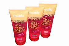 (1 Liter/21,65 Euro) 3 x  Fruttini Red Cherry, Duschgel,vegan, 3 x 200 ml,Kirsch
