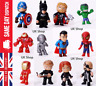 12x Marvel Avengers DC Comics Toys Figures Cake Toppers Hulk Batman Super heroes