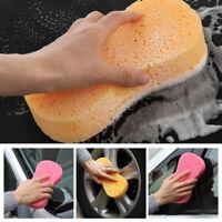 hohe qualität reinigung werkzeug waschen, putzen, schwamm fahrzeug auf auto.