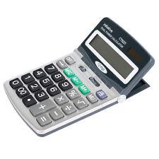 Large Adjustable 12 Digit LCD Calculator Dual Solar Power Handheld Desktop Maths