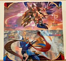 "Pokemon Sword & Shield Ultra Pro Card Supplies 2-Player Playmat 24"""