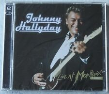 Johnny Hallyday, live at Montreux 1988, 2CD neuf
