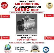 DENSO AIR CONDIZIONE AC Compressore BMW 3 E36 325 TDS 1993-1998 OEM: 64528371021