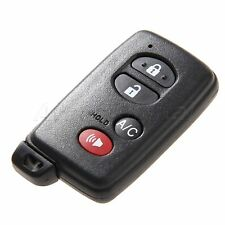 Remote Car Smart Key Case Fob Shell For Toyota Prius 4 Buttons with Uncut Blade