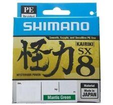Trecciato Shimano Kairiki PE 0.33mm 34kg 300mt Matis Green