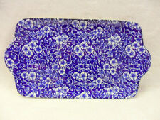 """Blue Victorian calico chintz sandwich plate """"special offer"""""""