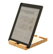 Soporte de tableta iPad de bambú
