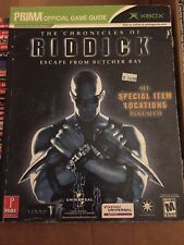 The Chronicles of Riddick Escape From Butcher Bay Official Strategy Guide Book