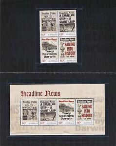 Australia 2013 Headline News. SG 4029/ms4033