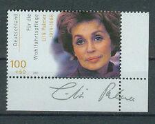 BRD Briefmarken 2000 Filmschauspieler L.Palmer Ecke Mi.Nr.2143 ** postfrisch