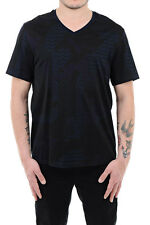 NEIL BARRETT Nw Man V-Neck Short Sleeve T-Shirt Tee Size M LOOSE SLIM FIT $246