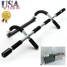 Perfect Fitness Multi-Gym Doorway Pull Up Bar Workout Exercise Fitness Gym US